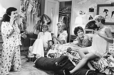 grease-slumber-party